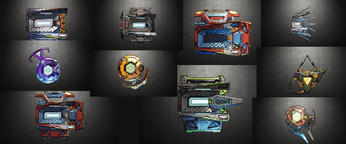 so many shields!