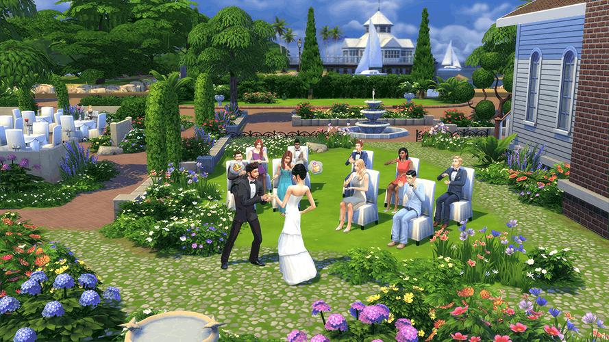 a Sims romance