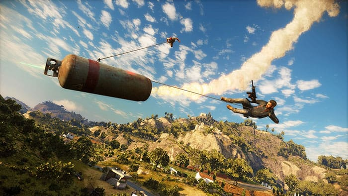 Just Cause 3 vs. 4 - Grapple Hook