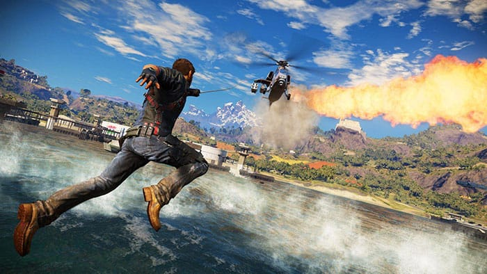 Just Cause 3 vs. 4 - Helicopter