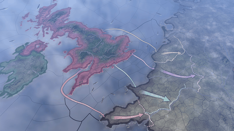 how to recall troops in Hearts of Iron 4
