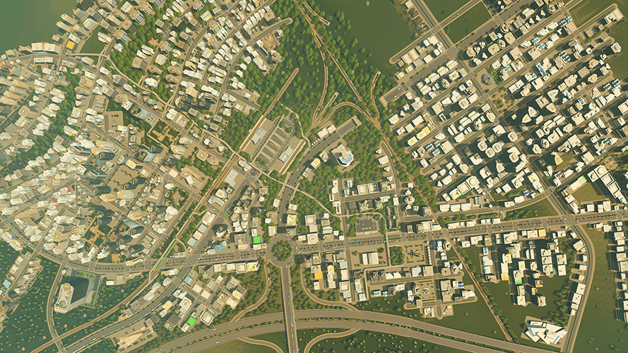 how to elevate roads in Cities: Skylines