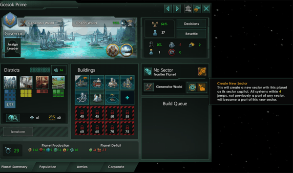 this is how you create sectors in Stellaris