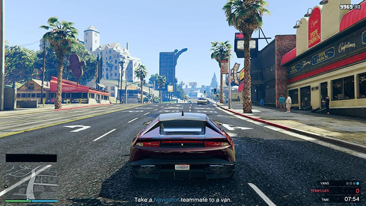 A few missions in GTA Online involve driving teammates around