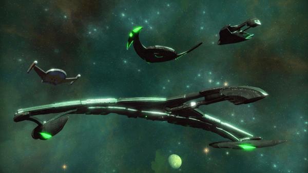 we think the romulans are the best Star Trek Online faction