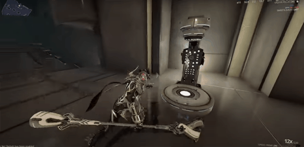 Warframe's Good Early Weapon entry for melee weapon