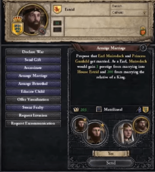 this menu is how to declare war in ck2