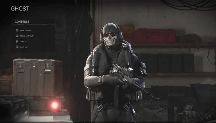 UDT Ghost Warzone Operator Skin