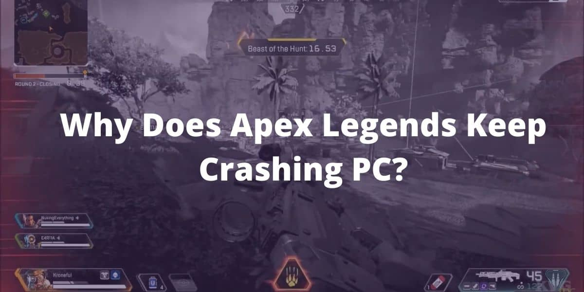 Why Does Apex Legends Keep Crashing PC