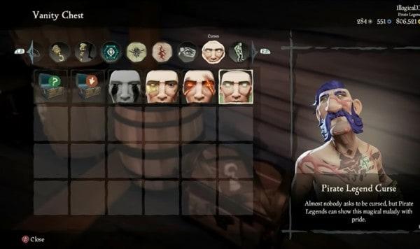 Legendary Pirate Curse