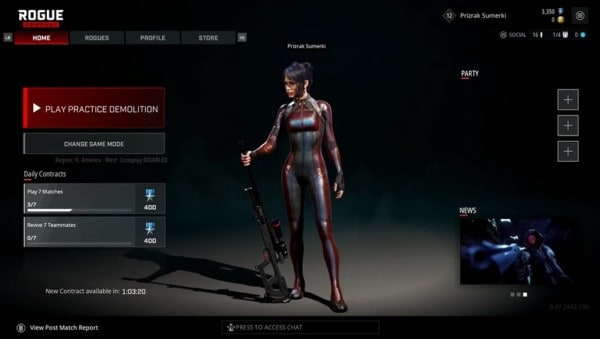 Rogue Company is cross-playable
