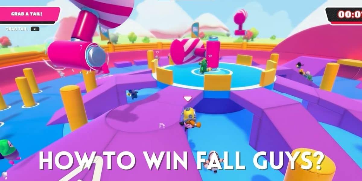 how to win fall guys
